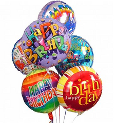 Balloons:  Children's Birthday - Regular Size
