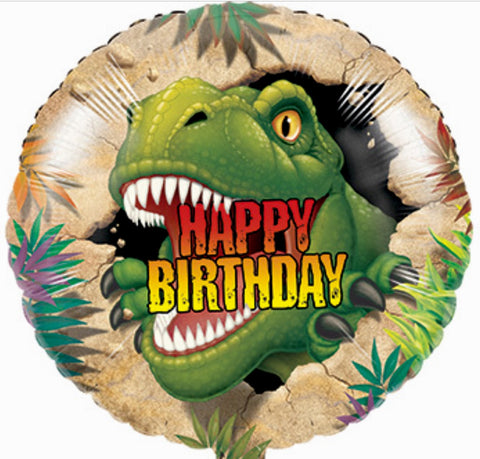 Dinosaur T-Rex Happy Birthday