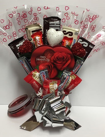 Valentine's Candy Bouquet - Sugar Rush