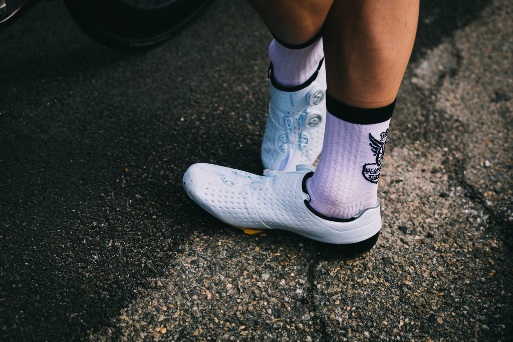One Life Cycle Racing Team Red Hook Crit Brooklyn Sock Doping