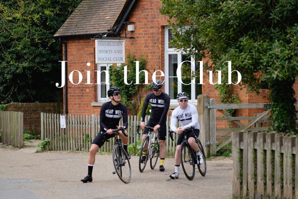 Wearwell Cycle Company | Join the Club Sign Up