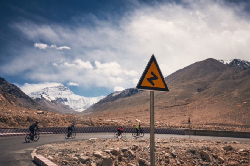 RideNow Tibet Cycling Long Distance Audax Everest Himalayas Road Cycling Wearwell