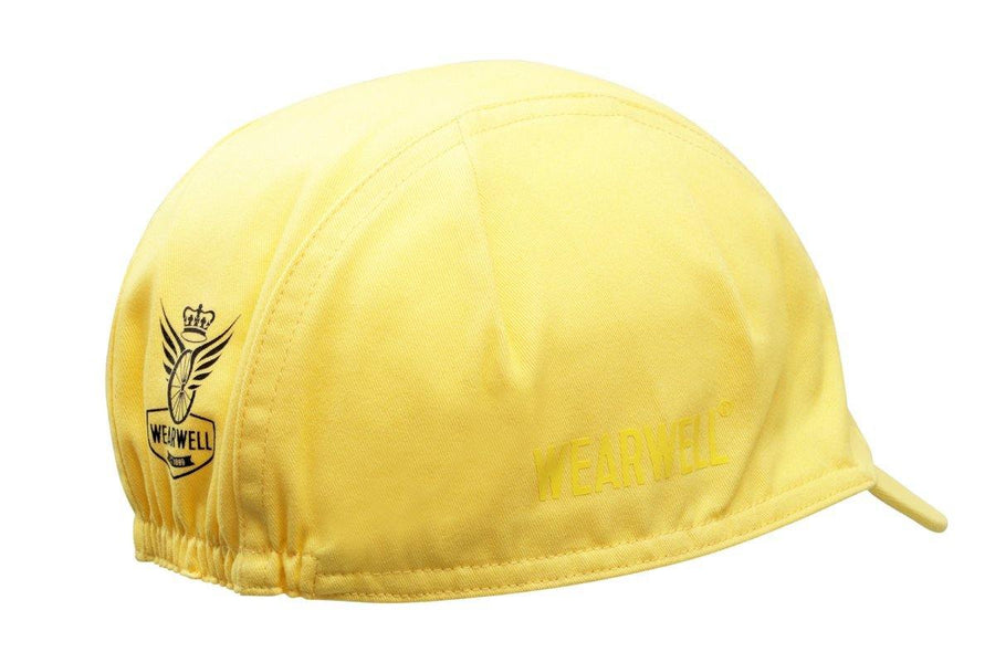 Cycling Cap - Revival Collection | Second Edition - Yellow - Cycle Cap - Wearwell Cycle Company
