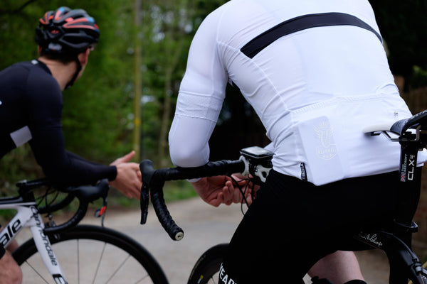 Revival Jersey - First Edition | White - Short Sleeve Jersey - Wearwell Cycle Company