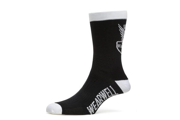 Cycling Socks - Revival Collection | First Edition - Black - Socks - Wearwell Cycle Company