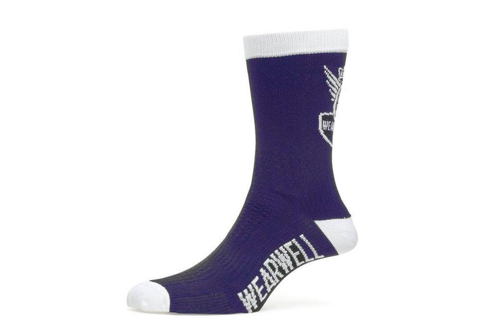 Wearwell Revival Cycling Sock Navy Blue