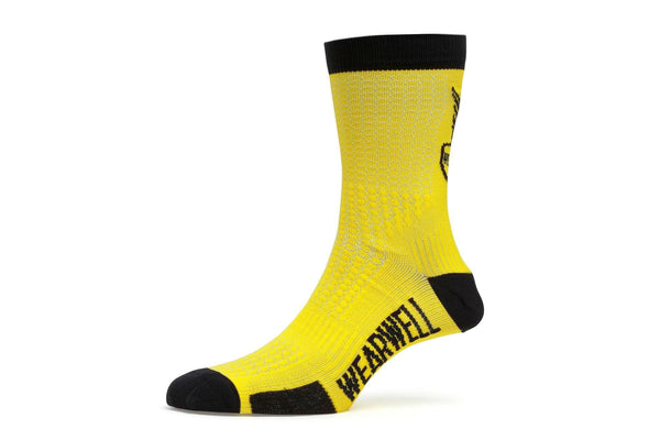 Cycling Socks - Revival Collection | Second Edition - Yellow - Socks - Wearwell Cycle Company