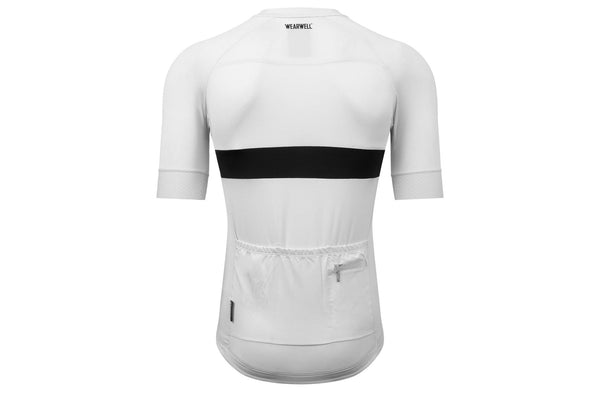 Revival Jersey - Second Edition | White - Short Sleeve Jersey - Wearwell Cycle Company