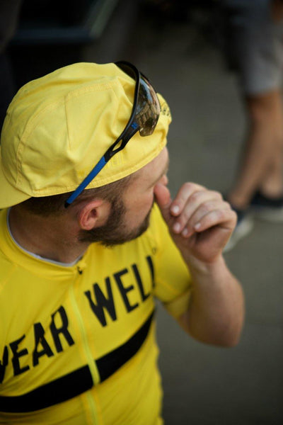 Revival Jersey - Second Edition | Yellow - Short Sleeve Jersey - Wearwell Cycle Company