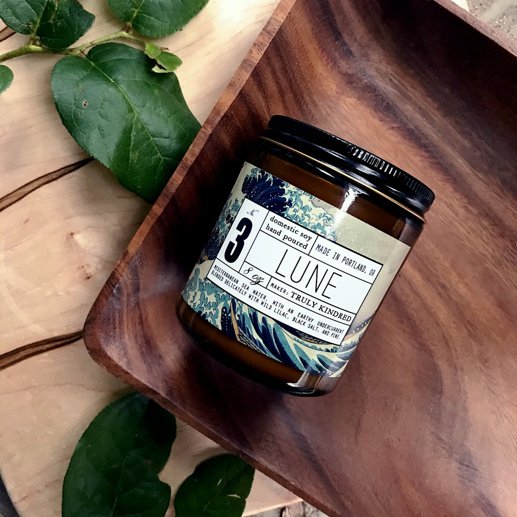 #3 Lune - 8oz Soy Candle