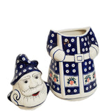 Polish Pottery SANTA CLAUS Cookie Jar