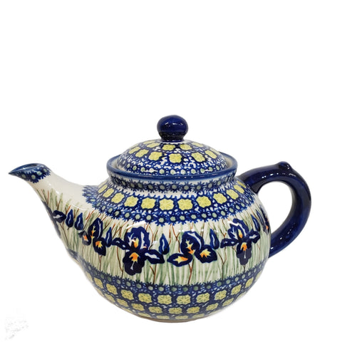 Afternoon teapot in Signed Iris pattern