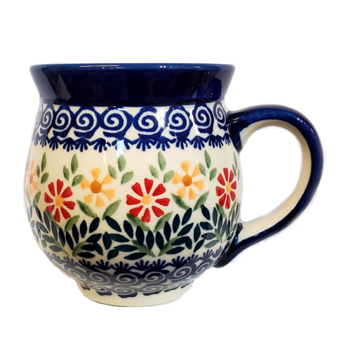 0.5L Large Bubble mug in Spring Morning pattern