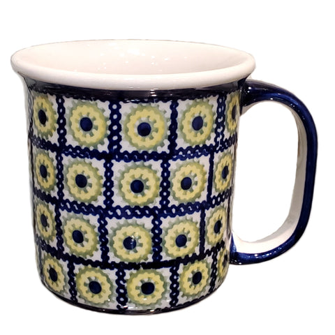 Large mug in Sunflower Box pattern