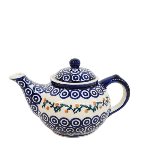 Mini Teapot in Berry Trail pattern
