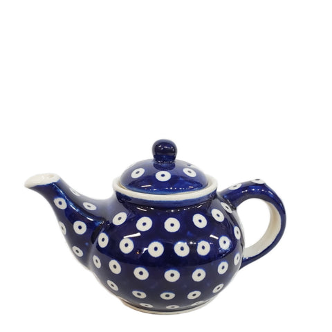 Mini Teapot in Polka Dot pattern