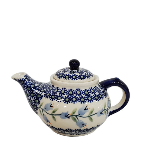 Mini Teapot in Trailing Lily pattern