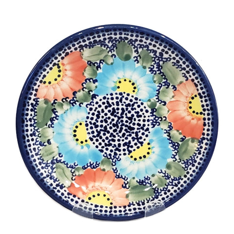 17 cm Bread and Butter Plate in Unikat Poppy Galore pattern