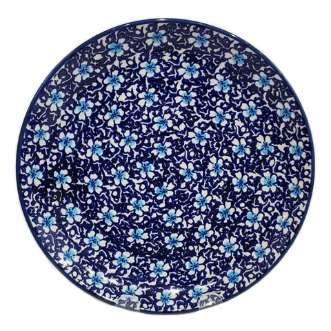 "11"" Dinner plate in Floral Fancy pattern"