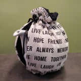 Words Wrap Tea Cozy