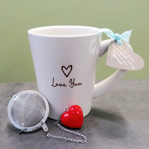 """Love you"" 15 oz mug"