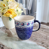 0.3L Bistro mug in Sailing The Seas pattern
