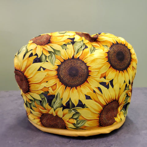 Hooded Sunflower Tea Cozy