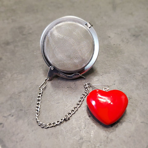 Heart Mesh Tea Ball