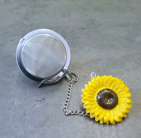 Sunflower Mesh Tea Ball