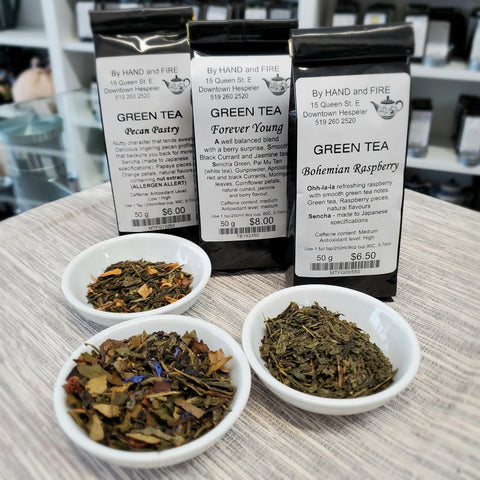 Flavourful Greens Tea pack