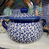 1L Soup Tureen in Bubbles pattern
