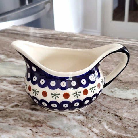 Gravy Boat in Old Poland pattern