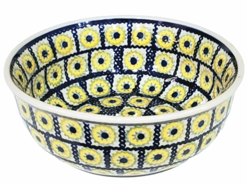 16.5cm Soup/Serving Bowl in Sunflower Box pattern