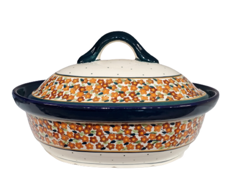Medium Covered Casserole in Unikat pattern