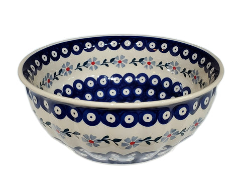 23cm Salad Bowl in Daisy Dot pattern