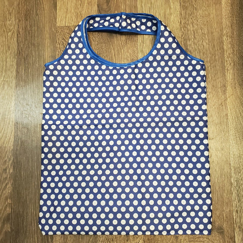 Shopping bag in Polka Dot pattern