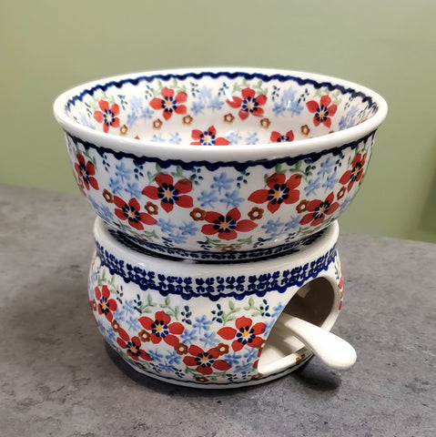 Teapot warmer in Country Garden pattern