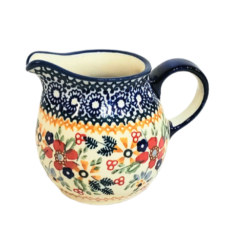 200ml Creamer in Signed Summer Garden pattern