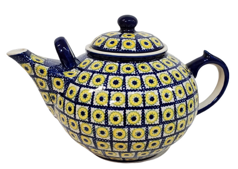 Large 3L Teapot in Sunflower Box pattern