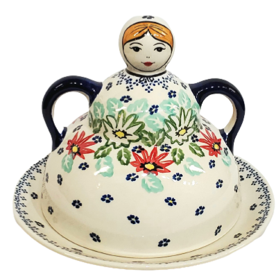 Pancake / Cheese Lady in Lily Pond pattern