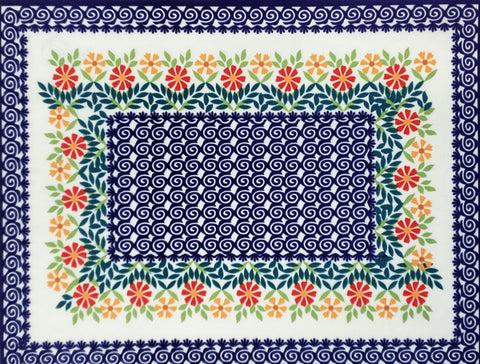 2pc Placemat set in Spring Morning pattern