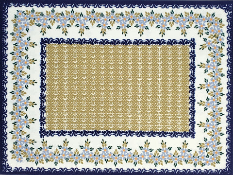 2pc Placemat set in Traditional pattern