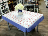 110x155cm Tablecloth in Summer Garden pattern