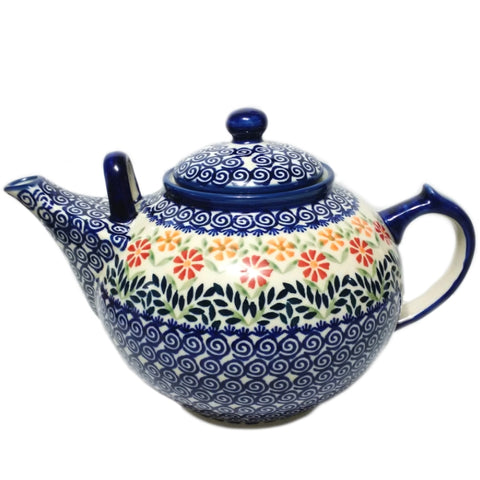 Large 3L Teapot in Spring Morning pattern