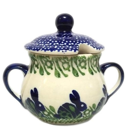 Sugar Bowl in Spring Bunny pattern