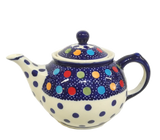 Morning teapot in Fun Dots pattern