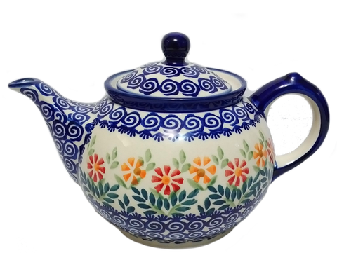 Morning teapot in Spring Morning pattern