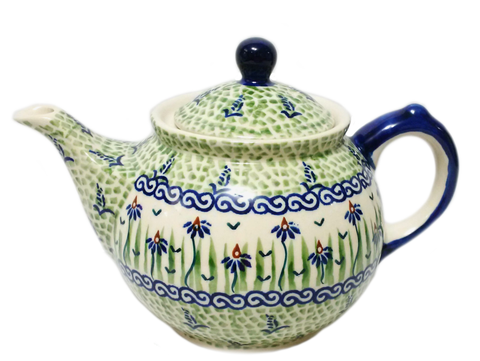 Morning teapot in Dancing Garden pattern
