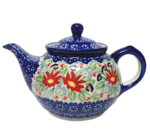 Morning teapot in Signed Wild Flower pattern