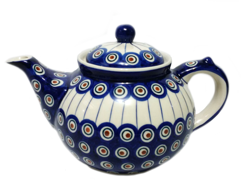 Afternoon teapot in Peacock pattern
